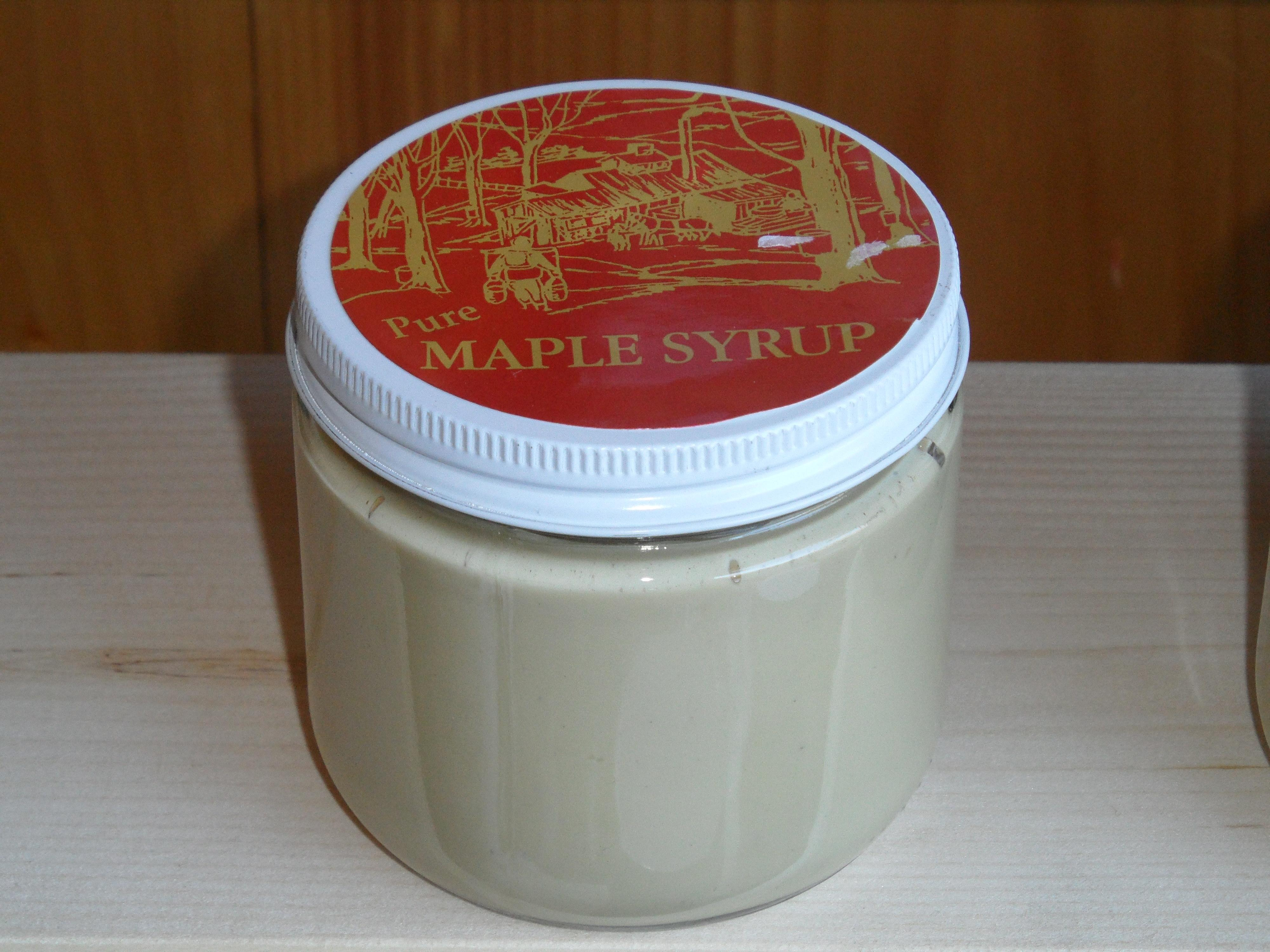 Vermont Pure Maple Cream - Large Jar (Approx 1 Lb)  Yum! Yum!